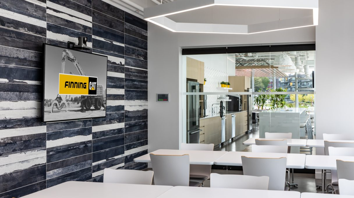 Finning office interiors