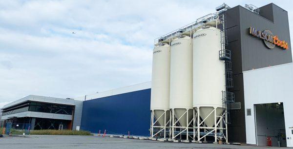Molson Coors exterior tanks